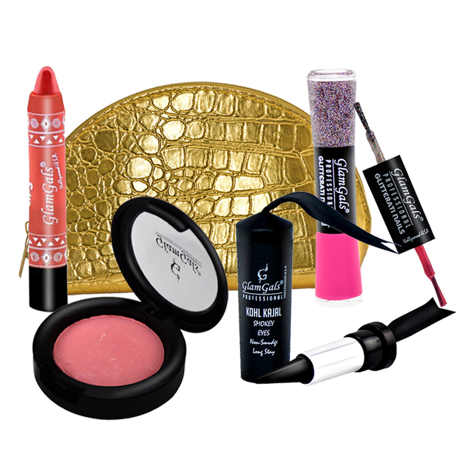 GlamGals Starter Kit (Pack of 4) with Free Pouch